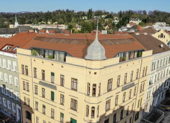 Dachgeschoßausbau Grillparzerstraße